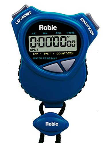 Oslo Dual Stopwatch/Countdown Timer (Blue) (Dual Split Timer)
