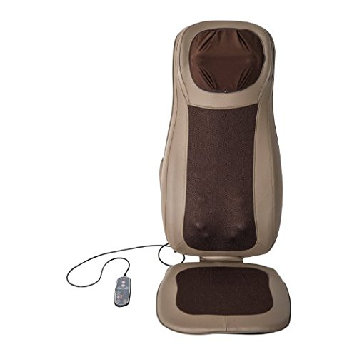 Soozier Four Function Massage Seat Cushion with Heat - Khaki