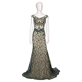 Ransa Green Mixed Special Occasion Dress For Women