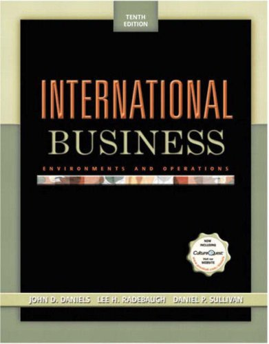 International Business: Environments and Operations PIE with          International Business generic OCC PIN card