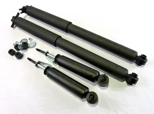 (DTA 40017 Shocks Full Set (Pack of 4 pcs) Fits Jimmy, S10, S10 Blazer, 2WD Models Only)