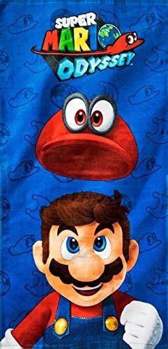 Super Mario Odyssey Beach Towel