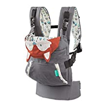 Infantino Cuddle Up Ergonomic Carrier - Fox, Orange