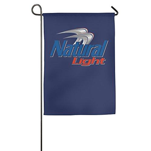 ndoor Flag House Flag Fashion Garden Flag Outdoor Flag (2 Size) (Logo Natural)