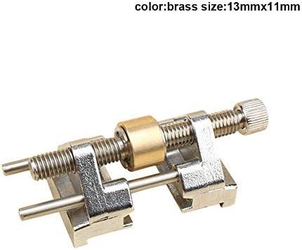 ステンレススチールサイドクランプ固定角ホーニングガイドウッドチゼルブレードフラットチゼルエッジシャープニングステンレススチール用 (13mmx11mm, Brass)