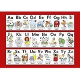 Pour l'apprentissage de l'Alphabet pour enfants poster A3