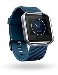 Fitbit Blaze - Reloj Deportivo (Acero Inoxidable, Acero Inoxidable, A Prueba de Salpicaduras, Resistente al Agua, Elastómero, Correr, Natación, Bluetooth)
