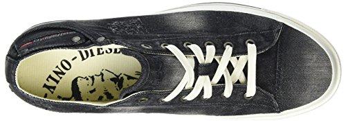 Diesel Herren Exposure Low I Sneaker Schwarz (Black)