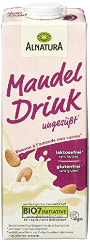 Alnatura Mandel Drink ungesüßt, 8er Pack (8 x 1 l)