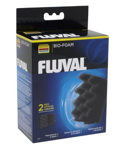 Fluval 304 404 Canister Filters - Fluval 12 Pack of Bio Foam Aquarium Filter Media for 304, 305, 306, 404, 405, 406 Canister Filters