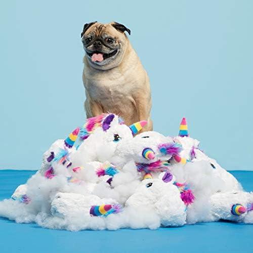 Bark Rainbow Unicorn Dog Toy product image