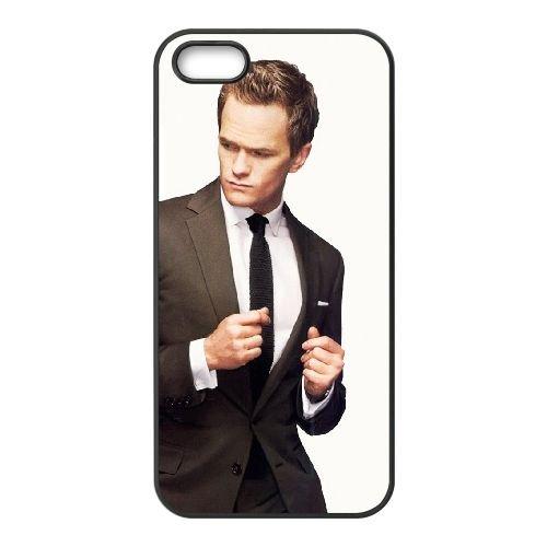 How I Met Your Mother 2 coque iPhone 4 4S cellulaire cas coque de téléphone cas téléphone cellulaire noir couvercle EEEXLKNBC25815