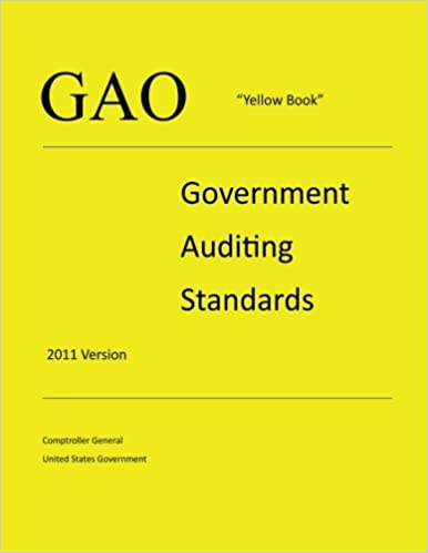 Gao yellow book government auditing standards 2011 version gao yellow book government auditing standards 2011 version comptroller general united states government 9781479245574 amazon books fandeluxe Images