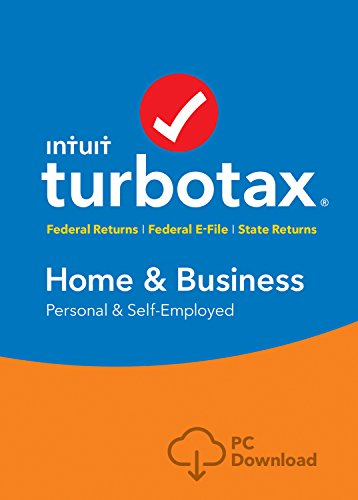 TurboTax Home & Business 2016 Tax Software Federal & State + Fed Efile PC download [Amazon Exclusive]