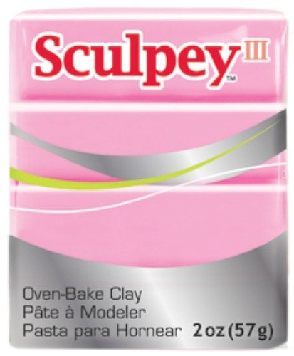 Sculpey S302 303 Oven Bake Clay III-Dusty Rose Polyform Products