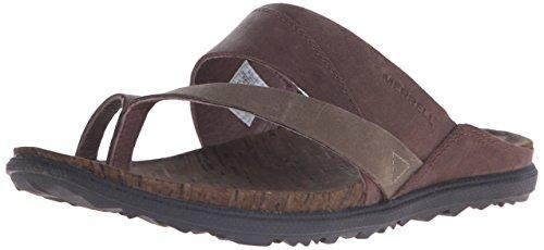 Merrell Zapatillas de estar por casa Around Town Thong Brown/Green