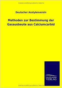 Methoden zur Bestimmung der Gasausbeute aus Calciumcarbid