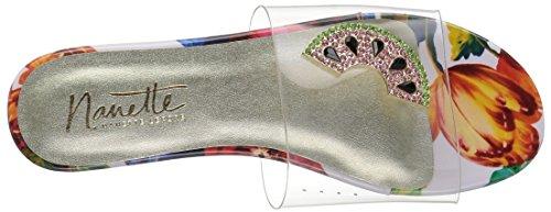 Nanette Lepore Women's Veronica Slide Sandal Pink Tropical tjCmDD