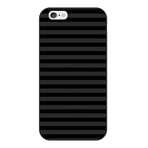 JMM Ultra-Thin Black Silicone Soft Cover (Printed) for Apple iPhone 6 / 6S