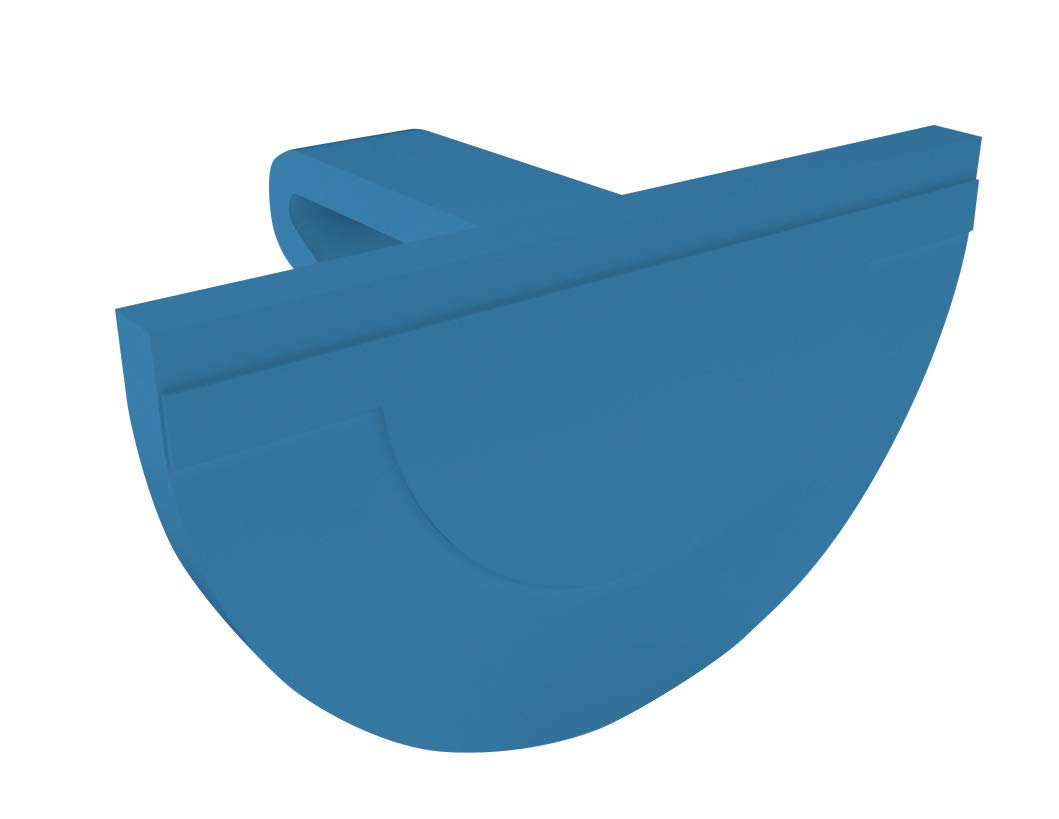 Big D 636 The D-Clip Toilet Rim Hanger, Mountain Air Fragrance, Blue (Pack of 12) - Lasts up to 45 days - Ideal for restrooms in offices, schools, restaurants, hotels, stores