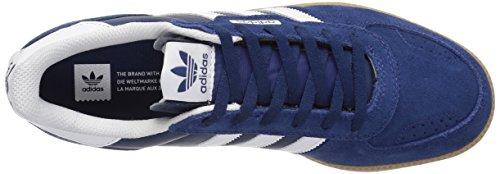 Adidas Originals Mens Leonero Sneaker Mistero Moda Blu / Bianco