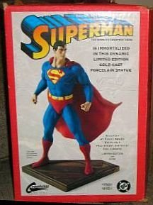 Superman Randy Bowen Seinfeld Statue Limited Edition Figure by DC Direct