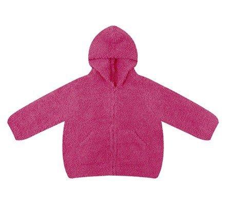 Chenille Hooded Jacket - Angel Dear Baby-girls Infant Chenille Hooded Jacket, Fuchsia Pink, 0-6 Months