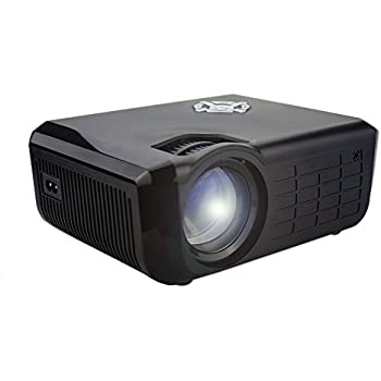 2200 lumens Projector(Warranty include), Dihome 2017 Updated HD 1080P LED Projector Home Cinema Theater Portable Multimedia Video Projector, Support USB HDMI AV SD VGA DH022