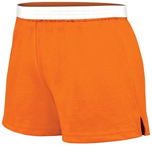 Soffe Juniors Athletic Short, Tenn Orange, Small