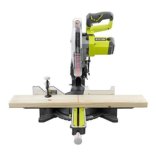 Factory Reconditioned Ryobi ZRTSS120L 15 Amp 12 in. Sliding Miter Saw with Laser