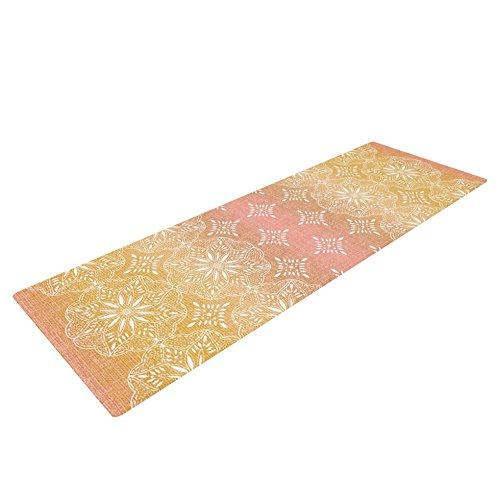 Medallion Blush (Kess InHouse Suzie Tremel Medallion Blush Ombre Yoga Exercise Mat, Pink, 72 x 24-Inch)
