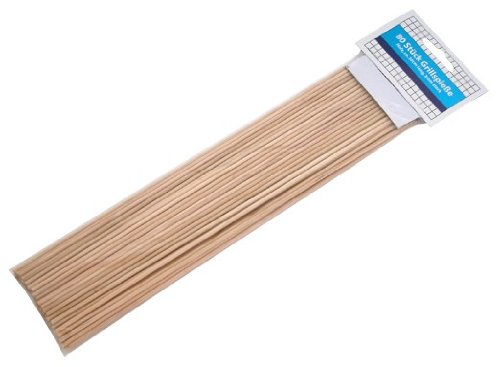 Grillspieße Holz 80STK. 30cm lang, 3mm stark
