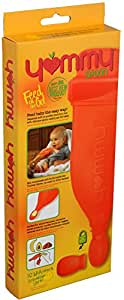 Yummy Spoon (2nd generation) - The Only Self Feeding Baby Spoon for Whole Foods & Homemade Recipes