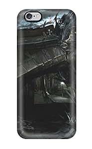 Unique Design Iphone 6 Plus Durable Tpu Case Cover Alone In The Dark