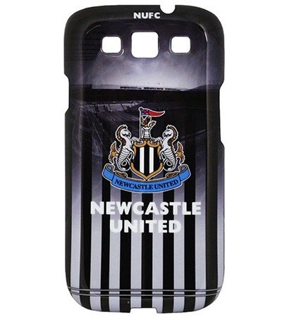 Newcastle United FC Handy Cover Rückseite Galaxy 3S case Tasche Mobile Cellulare