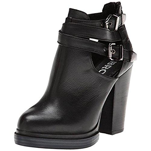 Bronx Women's Cherry Top Motorcycle Boot,Black,38 EU/8 M US