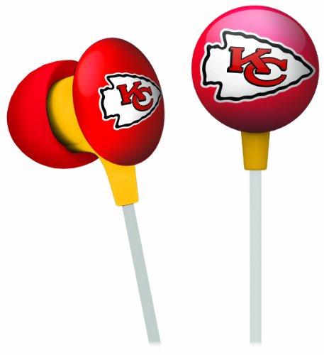 NFL Kansas City Chiefs Ear Phones