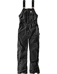 Women's Weathered Duck Wildwood Bib Overalls (Regular and Plus Sizes)