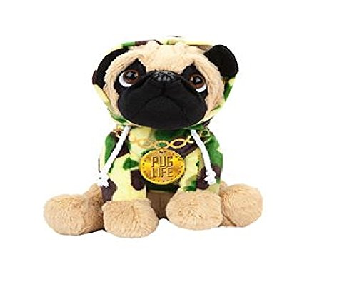Pug Plush in Cute Dress Up Outfits – Various Sizes – Various Costumes – Collect Them All Today (8