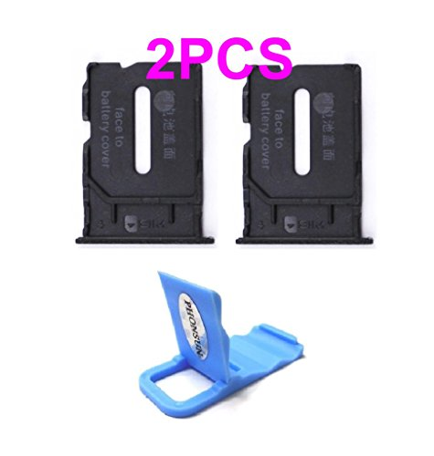 r Slot Tray Replacement Part for Oneplus One 1+ A0001 + PHONSUN Portable Cellphone Holder (One Sim Card)