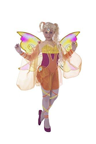 Ciao 11185–Star Bloomix Costume Winx Club 7-9 anni Stella (Arancione, Giallo)]()