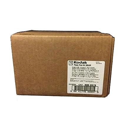 Kodak 305/6R Kiosk 640 - Kit de papel fotográfica para impresora