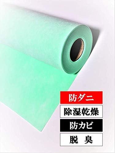 【防ダニ乾燥剤入】 畳乾燥シート8畳用 100cm巾×【14m】( 畳 の下に敷いて カビ ダニ 湿気 臭いを吸着)