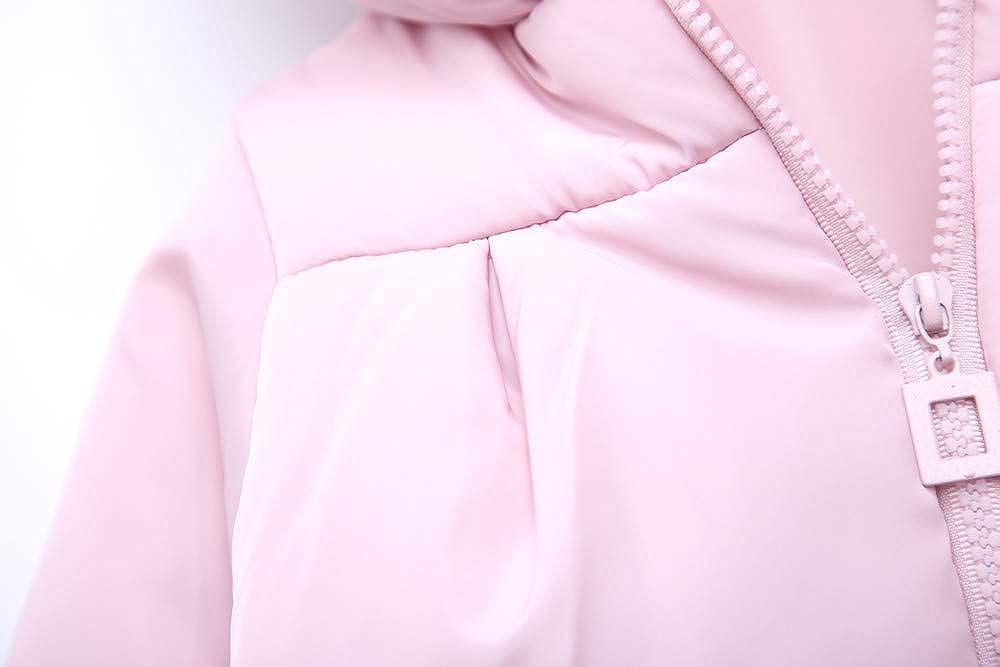 Lurryly❤Unisex Baby Panda Hoodies Hooded Fall Winter Warm Tops Jacket Windproof Jacket Coat 1-3T