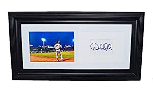 AUTOGRAPHED Derek Jeter #2 New York Yankees Team THE FINAL SEASON Rare Signed 10X19 Inch Black Framed MLB Baseball Photo with COA