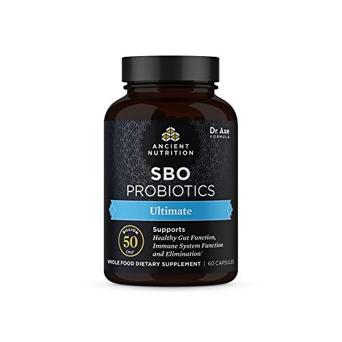 SBO Probiotics Ultimate, 50 Billion CFUs* Per Serving, Digestive & Immune Support, Soil Based Organisms and Organic…