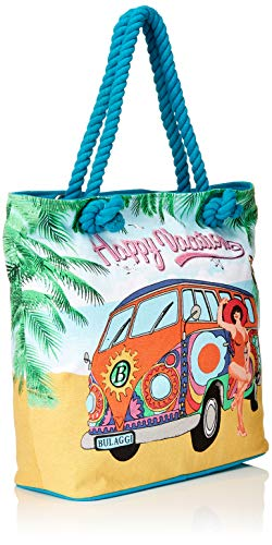 a Shopper e Rope Vivian Blu borse Donna spalla Shoppers Bulaggi With türkis nw5H0Oq5X