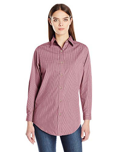 Backpacker Women's Micro Check Shirt, Red, Medium