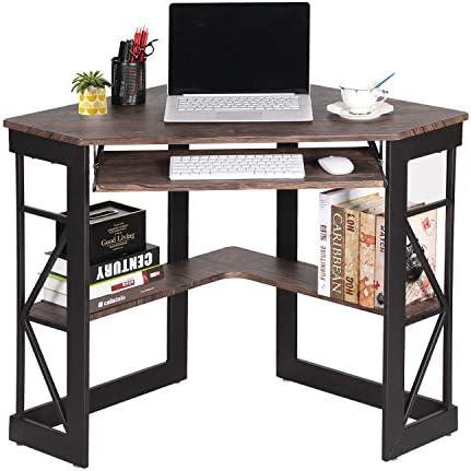 VECELO Keyboard Modern Office Desk