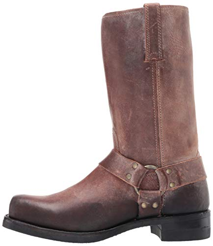 FRYE Men's 12R Harness Boot, Brown, 10.5M